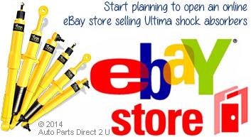 eBay store Ultima shock absorbers