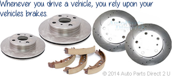 Whenever you drive a vehicle, you rely upon your vehicles brakes.