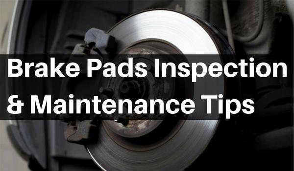 Brake Pads Inspection