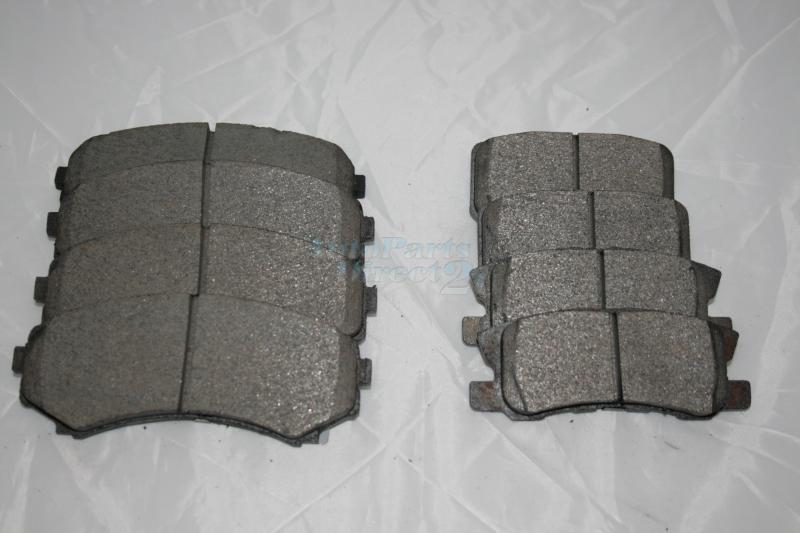 Pajero NM & NP - Front & Rear Brake Pads $59 00