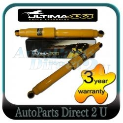 Nissan Navara 2WD & 4WD Raised Rear Ultima HD Shocks