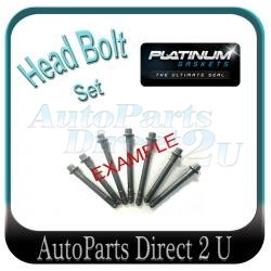 Ford Fiesta XR4 WQ 2.0L Head Bolt Set