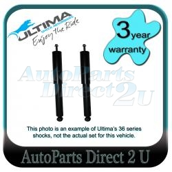 Hyundai Getz TB Series I & II Rear Ultima Shocks