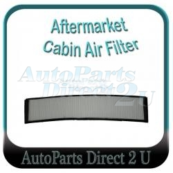 BMW X3 E83 Cabin Filter