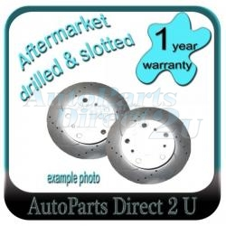 Ford Fairlane LTD DU NU Front D&S Brake Disc Rotors