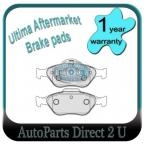 Ford Fiesta WP WQ 1.6ltr Front Brake Pads