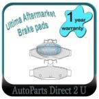 Nissan Pintara Rear Brake Pads