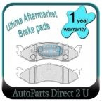 Jeep Grand Cherokee Front Brake Pads