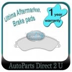 Ford Fairlane AUII & III Front Brake Pads