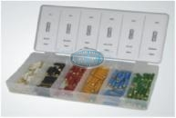 European Fuse Assortment Grab Kit - 120 pcs