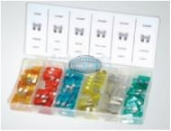 Large Plastic Fuse Assortment Grab Kit - 120 pieces