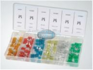Small Plastic Fuse Assortment Grab Kit - 120 pieces