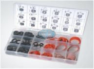 Fibre & Rubber Sealing Washer Assortment Grab Kit - 141 pieces