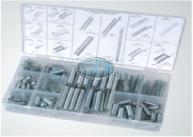 Extended & Compressed Spring Assortment Grab Kit - 200 pieces