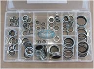 Bonded Washer Imperial Assortment Grab Kit - 110 pieces