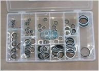 Bonded Washer Metric Assortment Grab Kit - 106 pieces