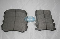 Pajero NM & NP - Front & Rear Brake Pads