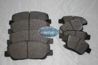 TARAGO ACR50 & GSR50 - Front & Rear Brake Pads