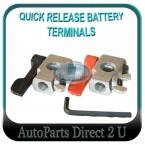 Vans, Generators, Quick Release Battery Terminal Clamps