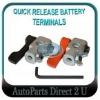 Ride on Mowers Quick Release Battery Terminal Clamps