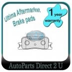 Toyota Kluger MCU28 (some) Rear Brake Pads