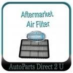 Mitsubishi Magna TE-TJII 6cyl TF 4cyl Air Filter