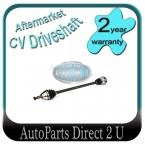Volkswagen Caddy 1.9L Manual Right CV Drive Shaft