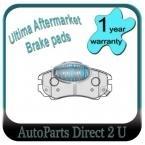 Hyundai Tiburon 2.0L 2.7L Front Brake Pads