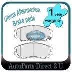 Hyundai Tiburon 2.7L Front Brake Pads