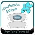 Hyundai iMax Front Brake Pads
