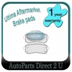 Hyunda I20 Rear Brake Pads