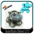 Nissan Dualis AWD J10 Rear Hub with Bearing