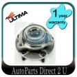 Holden Crewman VY VZ Cross 6/8 AWD Front Hub w/Bearing
