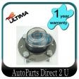 Kia Mentor FB22/24 Rear Disc Brake Rear Hub w/Bearing
